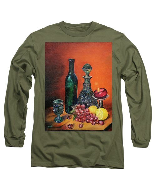 Candlelight Decanter Long Sleeve T-Shirt