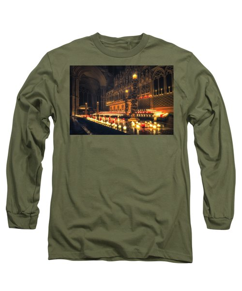 Long Sleeve T-Shirt featuring the photograph Candlemas - Altar by James Billings