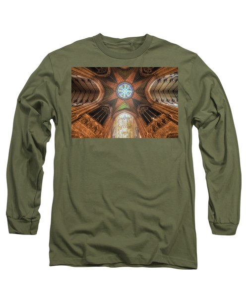 Long Sleeve T-Shirt featuring the photograph Candlemas - Octagon by James Billings