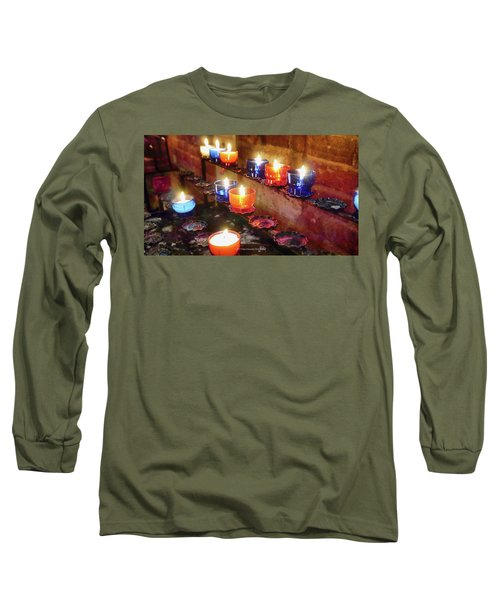 Candles Long Sleeve T-Shirt