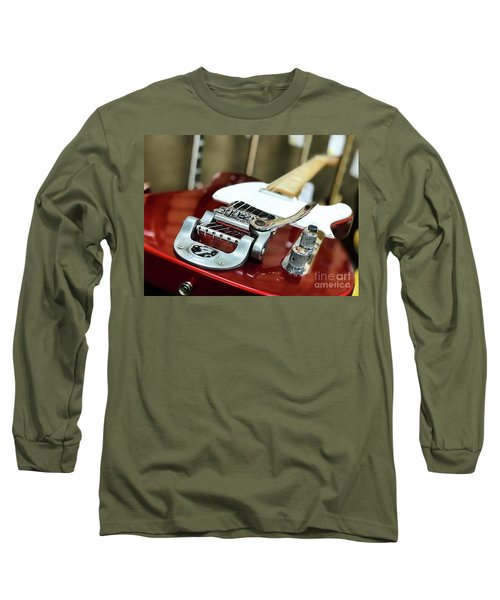 Candy Apple Fender Long Sleeve T-Shirt
