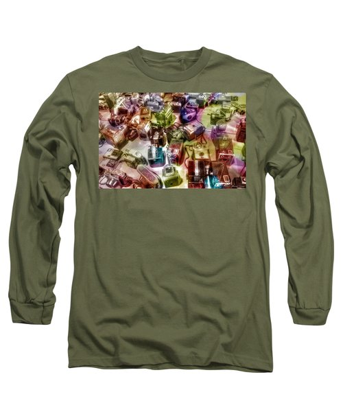 Candy Camera Long Sleeve T-Shirt by Michaela Preston