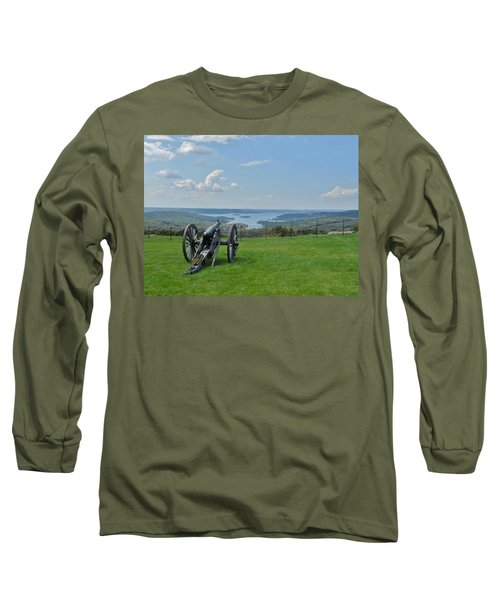 Cannons Ready Long Sleeve T-Shirt by Julie Grace