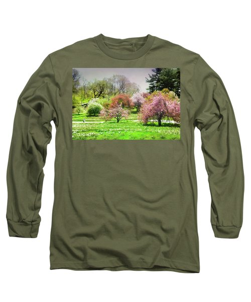 Long Sleeve T-Shirt featuring the photograph Garden Canvas  by Diana Angstadt