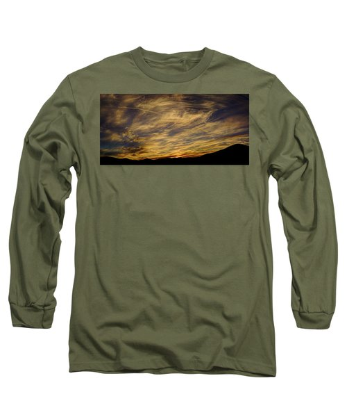 Canyon Hills Sunset Long Sleeve T-Shirt