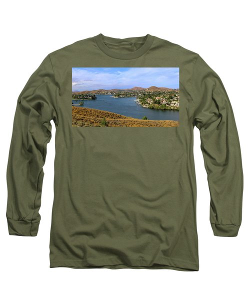Canyon Lake Panorama Long Sleeve T-Shirt