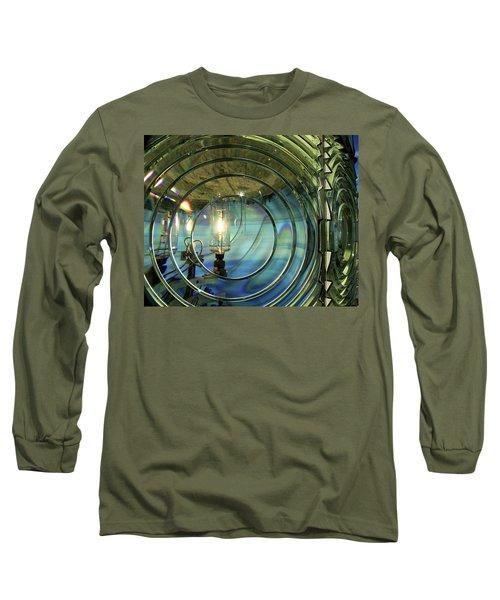 Cape Blanco Lighthouse Lens Long Sleeve T-Shirt