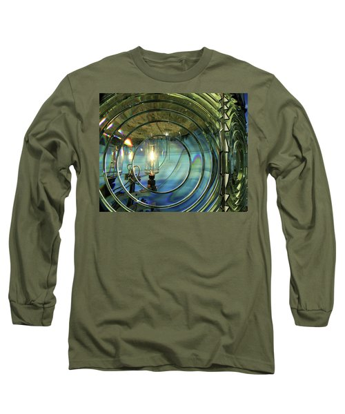 Cape Blanco Lighthouse Lens Long Sleeve T-Shirt