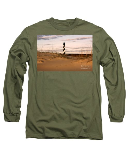 Cape Hatteras Lighthouse Long Sleeve T-Shirt