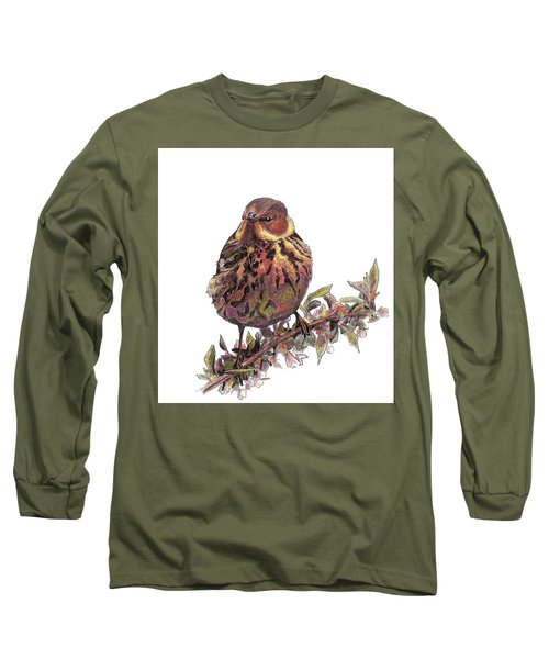 Cape May Warbler Long Sleeve T-Shirt