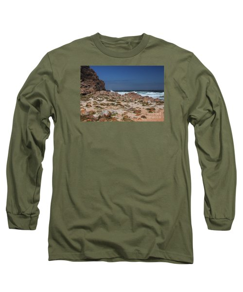Cape Of Good Hope Long Sleeve T-Shirt by Bev Conover