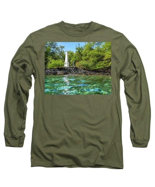 Captain Cook Monument Long Sleeve T-Shirt