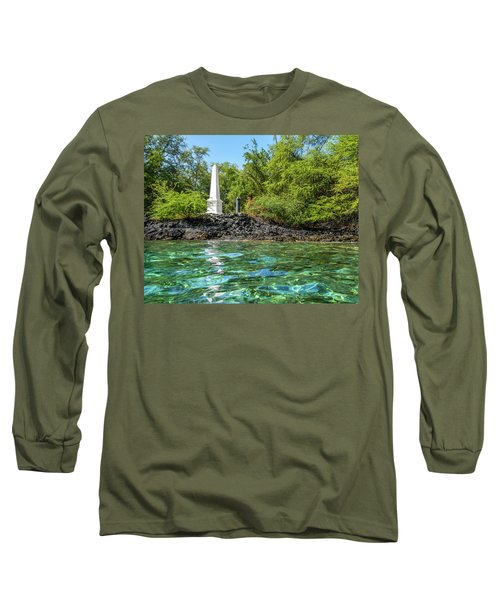 Captain Cook Monument Long Sleeve T-Shirt
