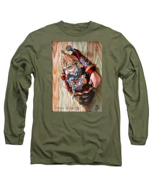 Captive Dwarf In Tiger Suit Long Sleeve T-Shirt
