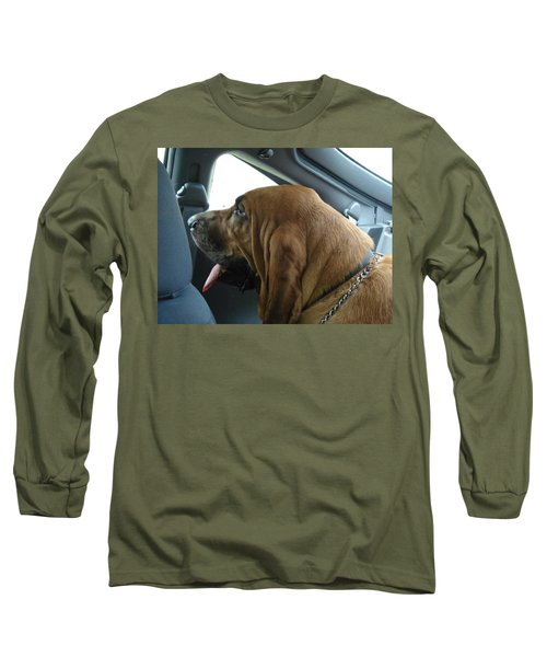 Car Ride Long Sleeve T-Shirt by Val Oconnor