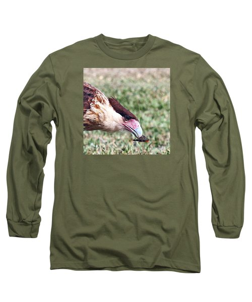 Caracara With Turtle Long Sleeve T-Shirt