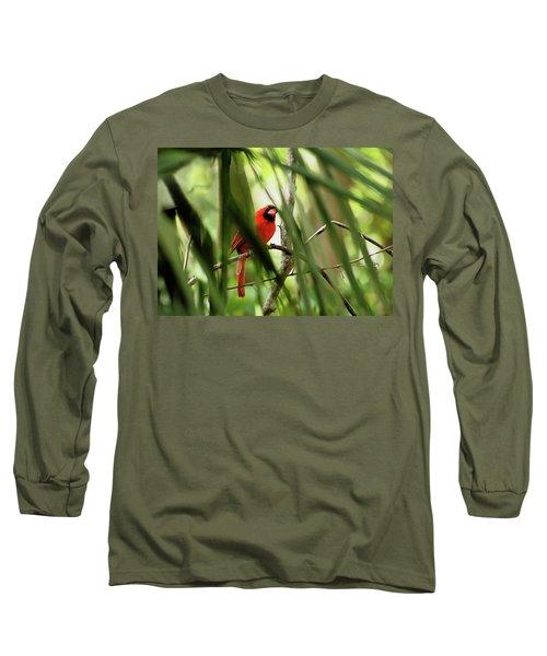 Cardinal Spy Long Sleeve T-Shirt