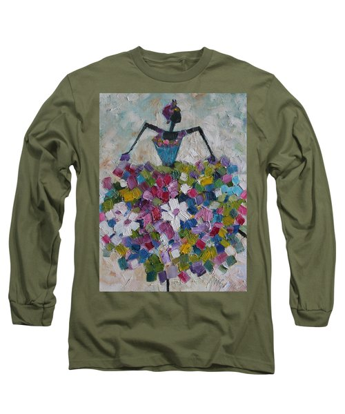 Caribbean Dancer Long Sleeve T-Shirt