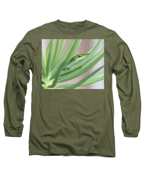 Carolina Anole Long Sleeve T-Shirt