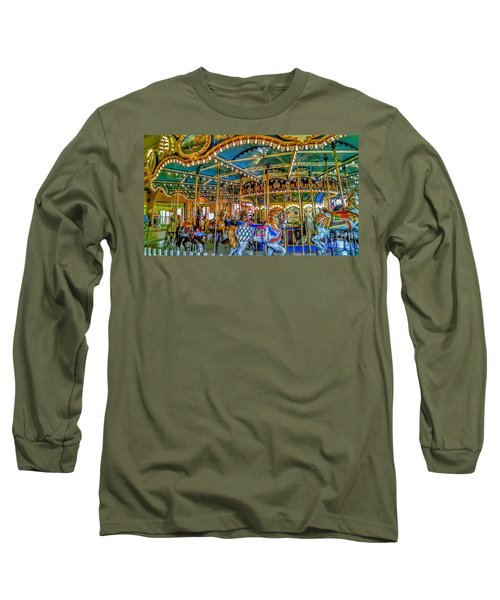 Carousel At Peddlers Village Long Sleeve T-Shirt