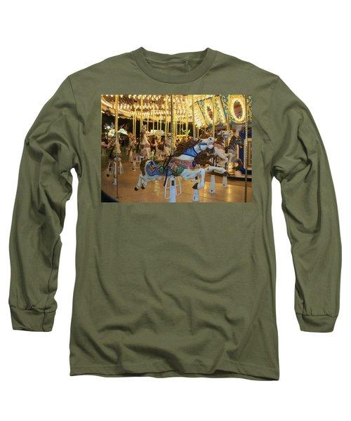 Carousel Horse 3 Long Sleeve T-Shirt