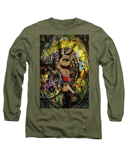 Long Sleeve T-Shirt featuring the photograph Carousel Rabbit by Michael Arend