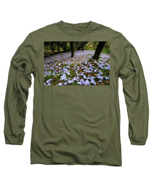 Carpet Of Petals Long Sleeve T-Shirt