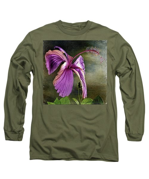 Long Sleeve T-Shirt featuring the photograph Caressed By The Light by Bellesouth Studio