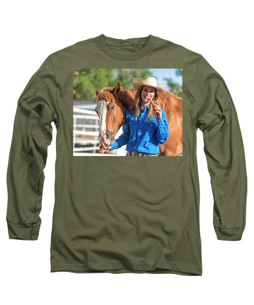 Carrots,cowgirls And Horses  Long Sleeve T-Shirt