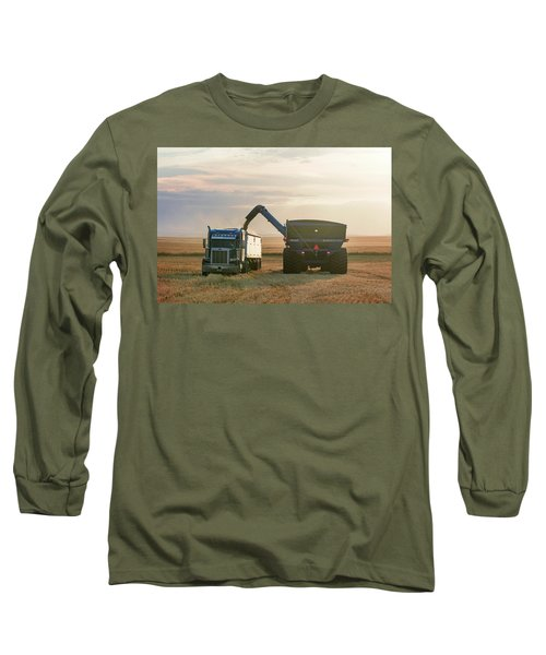 Cart Into Truck Long Sleeve T-Shirt