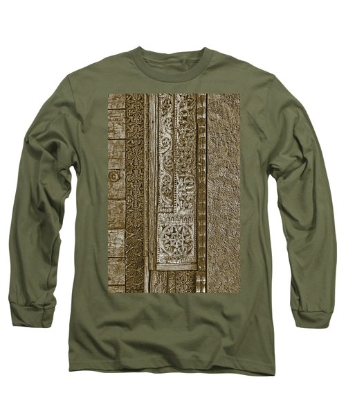 Long Sleeve T-Shirt featuring the photograph Carving - 6 by Nikolyn McDonald