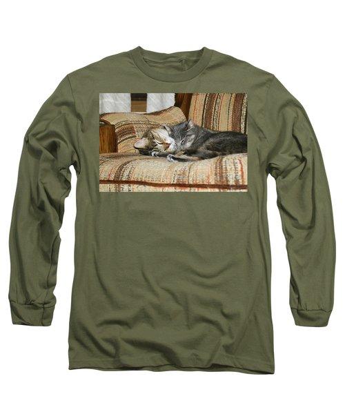 Long Sleeve T-Shirt featuring the photograph Cas-3 by Ellen Lentsch