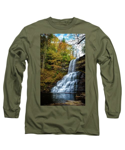 Cascades Lower Falls Long Sleeve T-Shirt