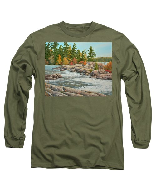 Cascading Flow Long Sleeve T-Shirt