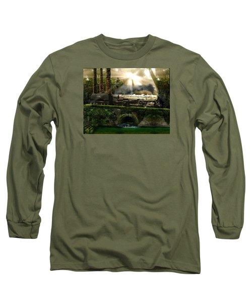 Casey Jones Long Sleeve T-Shirt by Michael Cleere