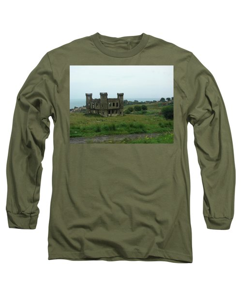 Castle Catania Sicily Long Sleeve T-Shirt