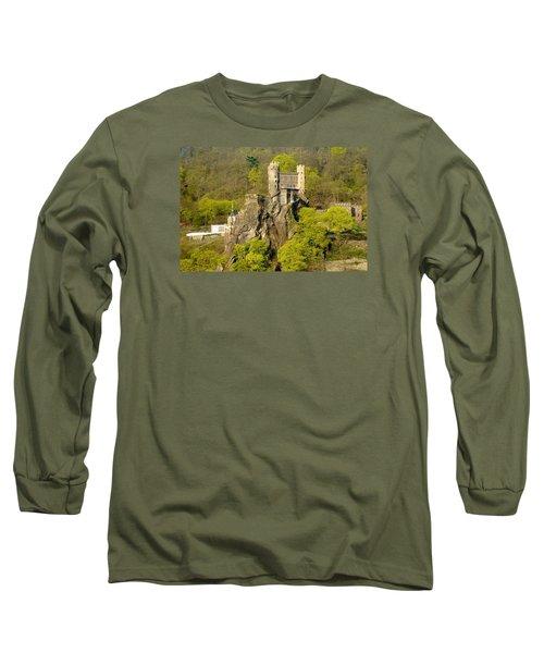 Castle On A Rock Long Sleeve T-Shirt