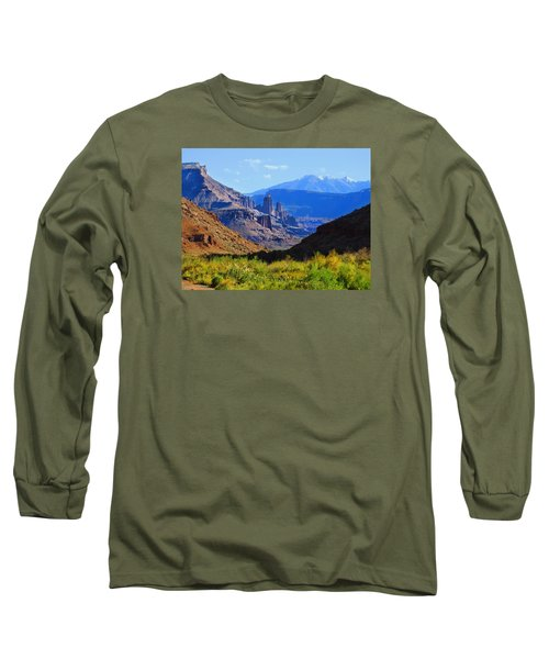 Castle Valley Long Sleeve T-Shirt by Laura Ragland