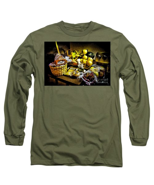 Long Sleeve T-Shirt featuring the photograph Casual Affluence by Tom Cameron