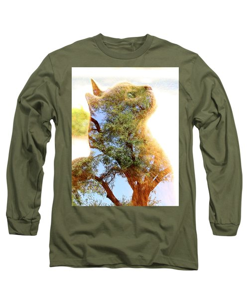 Cat Or Tree Long Sleeve T-Shirt