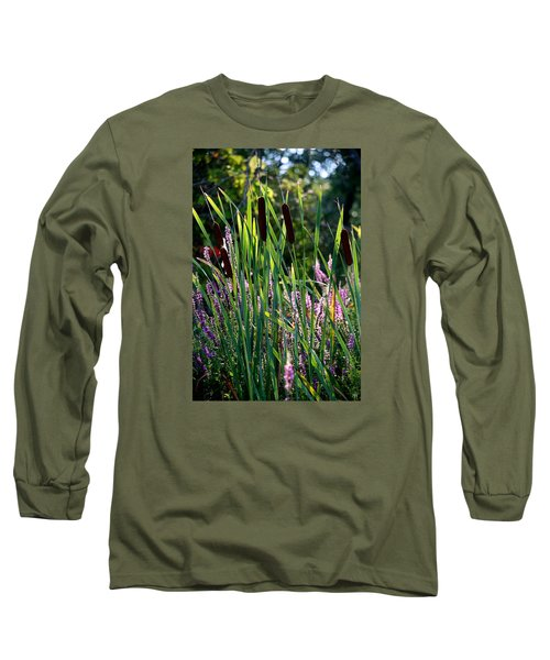 Cat Tails In The Morning Long Sleeve T-Shirt