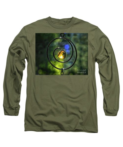 Long Sleeve T-Shirt featuring the photograph Catch Fire  by Mitch Shindelbower