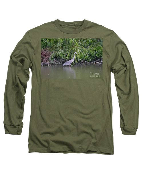Long Sleeve T-Shirt featuring the photograph Catch Me If You Can by Carol  Bradley