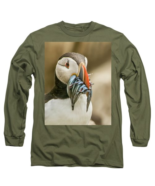 Catch Of The Day Long Sleeve T-Shirt by Brian Tarr
