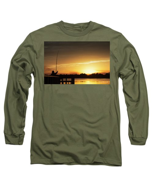 Catching The Sunset Long Sleeve T-Shirt by Phil Mancuso