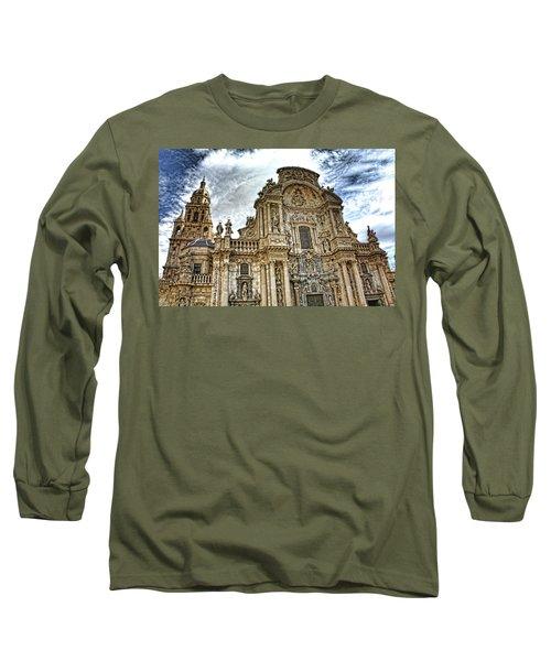 Catedral De Murcia Long Sleeve T-Shirt by Angel Jesus De la Fuente