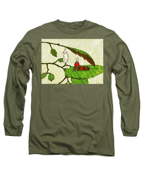 Caterpillar Whimsy Long Sleeve T-Shirt