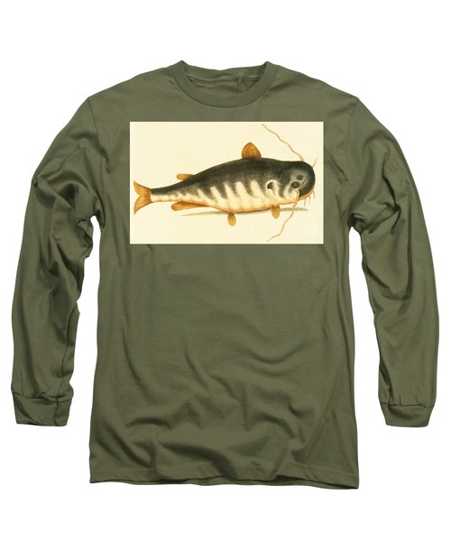Catfish Long Sleeve T-Shirt by Mark Catesby