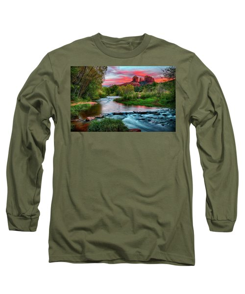 Cathedral At Sunset Long Sleeve T-Shirt