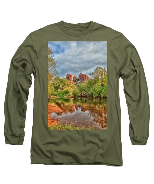 Cathedral Entrances Us Long Sleeve T-Shirt